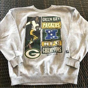 Vtg Starter NFL Green Bay Packers 97 Sweatshirt XL